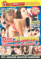 Homegrown 3-Somes: Menage-A-Twat Vol.2 Porn Video