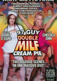 97 Guy Double MILF Cream Pie Porn Video