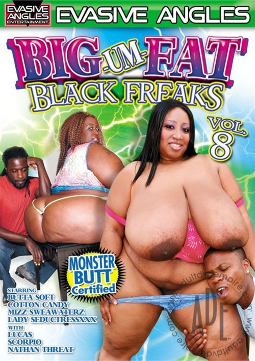 Big-Um-Fat Black Freaks 8