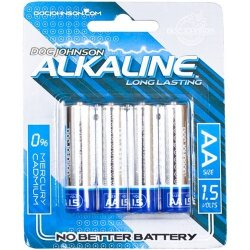 Doc Johnson AA Alkaline Batteries - 4 Pack Sex Toy