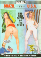 Brazil Vs. U.S.A. She-Male Battle Of The Sexes Porn Movie