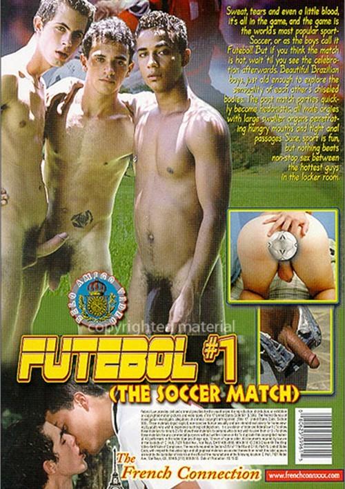 Futebol 1 The Soccer Match Cover Back