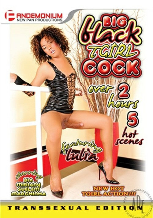 Big Black T-Girl Cock