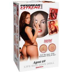 Pipedream Extreme Dollz: Agent 69 Sex Toy