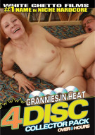 Grannies In Heat 4 Disc Collector Pack Porn Movie