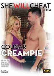 Cougar Creampie HD porn video from She Will Cheat.