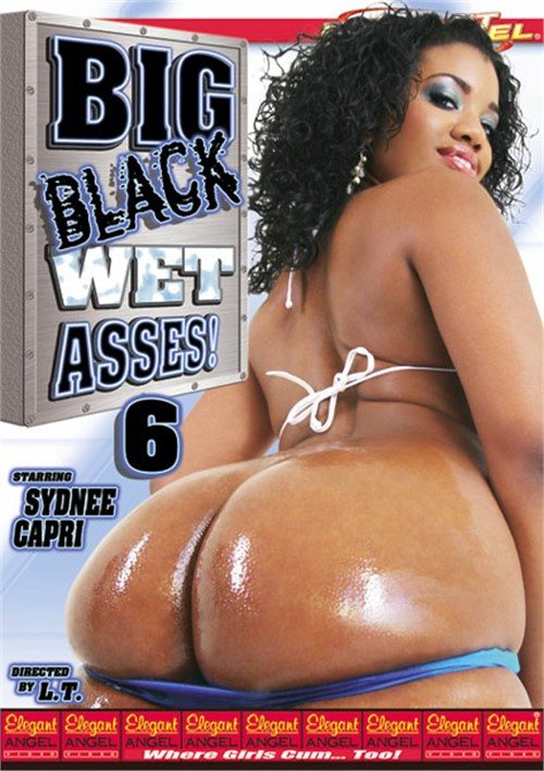 Big wet black ass