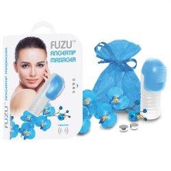 Fuzu Fingertip Massager - Neon Blue Sex Toy