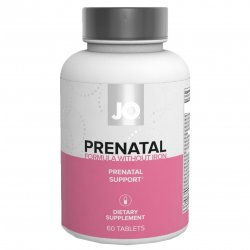 JO Prenatal Without Iron Dietary Supplement - 60 Capsules Sex Toy