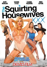 The Squirting Housewives porn video from Devil's Film.