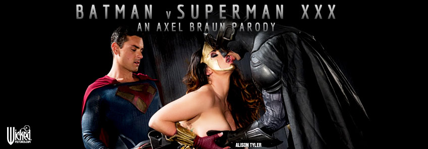 Buy Batman V. Superman XXX: An Axel Braun Parody DVD porn movie from Wicked Pictures.