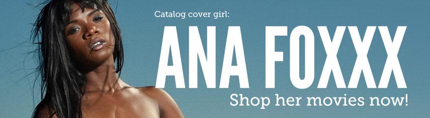 Catalog Cover Girl Ana Foxxx Pornstar Image