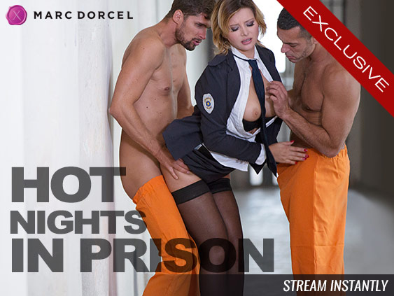 Watch Hot Nights in Prison exclusive streaming porn video.