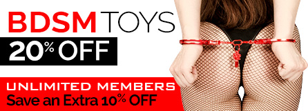 Unlimited members save an extra 10% on sex toys.