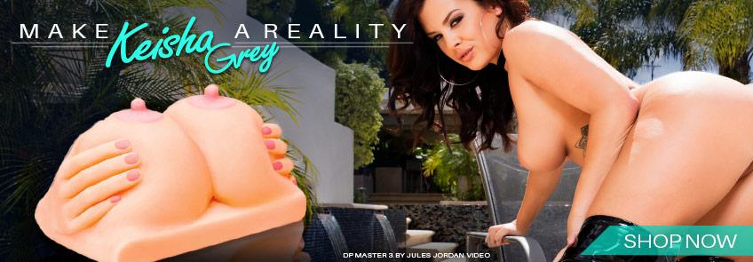 Buy Keisha Grey Titty Fuck Fantasy sex toy.