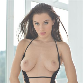 Trending newbie Lana Rhoades stars in Stacked 5.