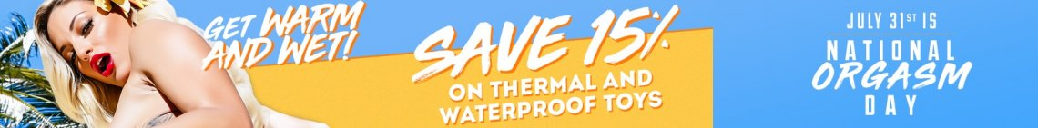 Save 15% on all of your favorite thermal and waterproof toys! image