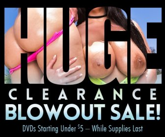 Save on clearance blowout porn movie DVDs.
