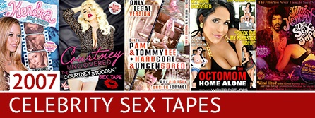 20 Years of Porn Trends: 2007 Celeb Sex Tapes