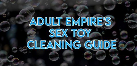 Learn more about sex toy cleaning.