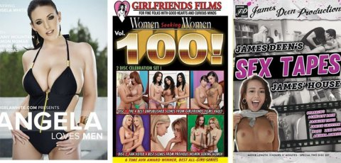 Angela White and more star in sale porn videos.