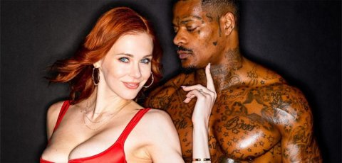 Maitland Ward stars in Black & Red exclusive porn video.
