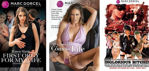Cherie DeVille and more star in Marc Dorcel porn movies.