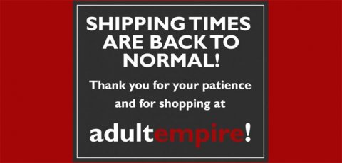 Shipping times return to normal.