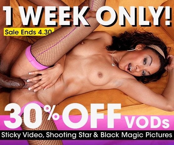 Stream porn videos from Sticky Video, Shooting Star and Black Magic on sale now.