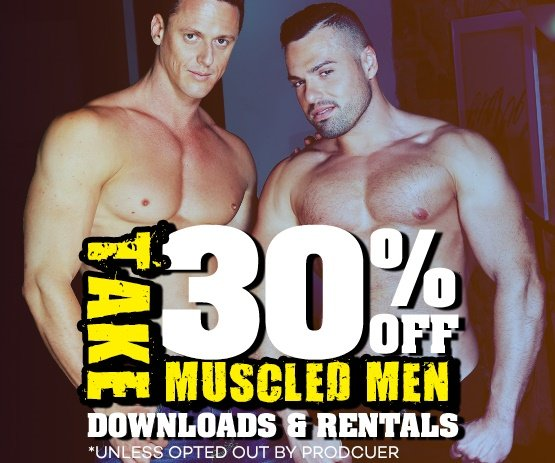 Watch and save 30% off Muscled Men VODs!