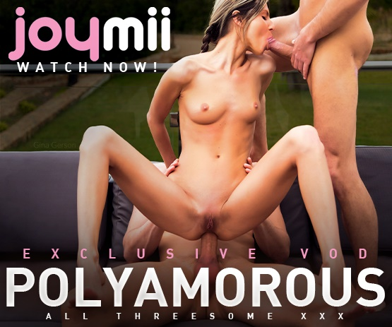 Polyamorous exclusive VOD porn video from JoyMii.