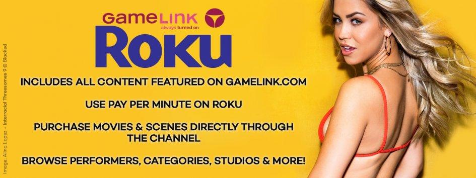 Add GameLink on Roku.
