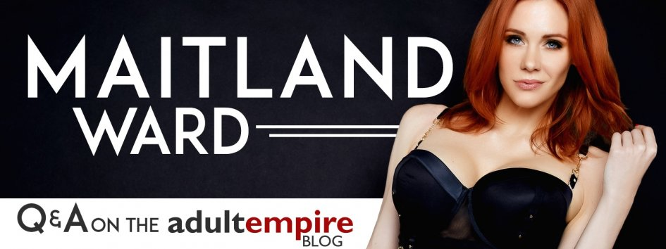 Pornstar Maitland Ward talks to Adult Empire.