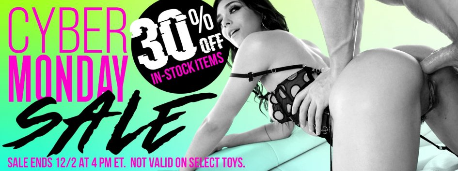 Save 30% for Cyber Monday.