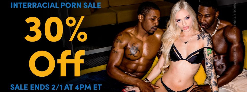 Shop interracial porn videos.