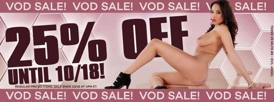 Buy 25% off porn videos.