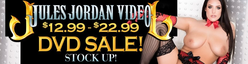 Angela White and more star in Jules Jordan Video sale DVDs.