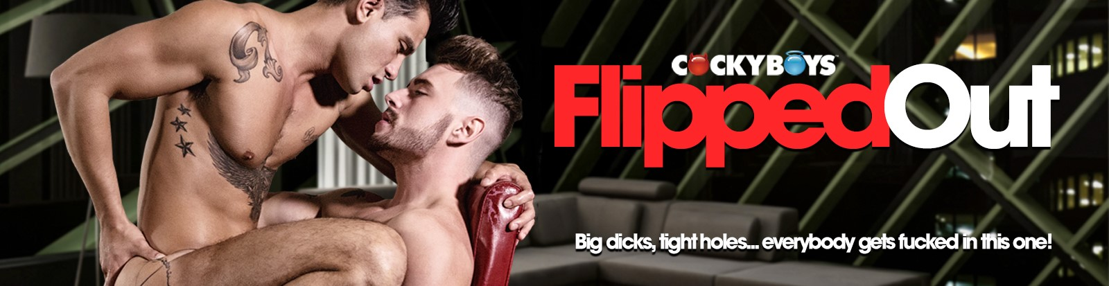 Flipped Out carousel Banner