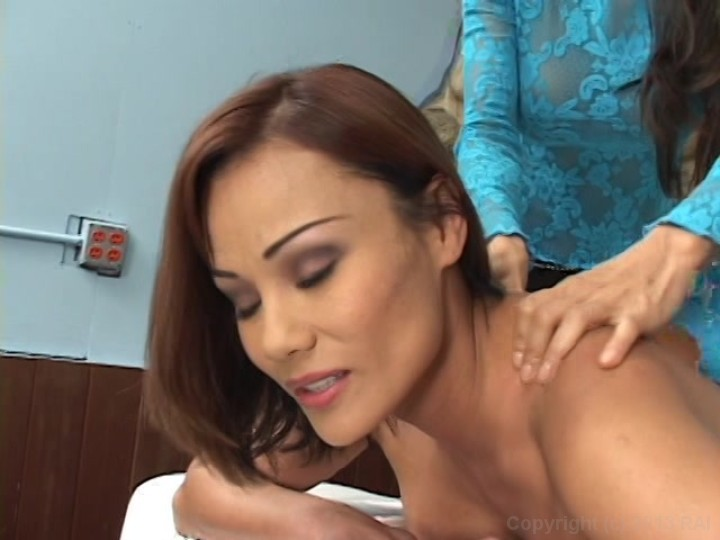 Teanna Kai Lesbian Massage