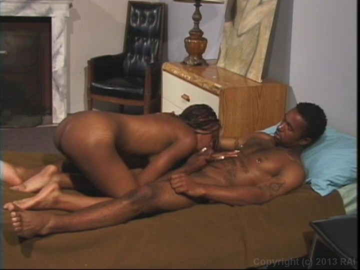 Bisexual Anal Sex Positions - Black Couple Having Fun in 69 Sex Position from Black Bisexuality 2 |  Bacchus | Adult Empire Unlimited