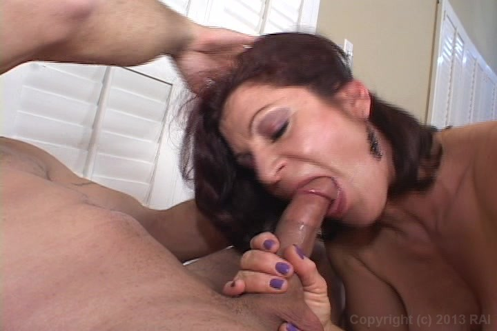 woman sucks cock