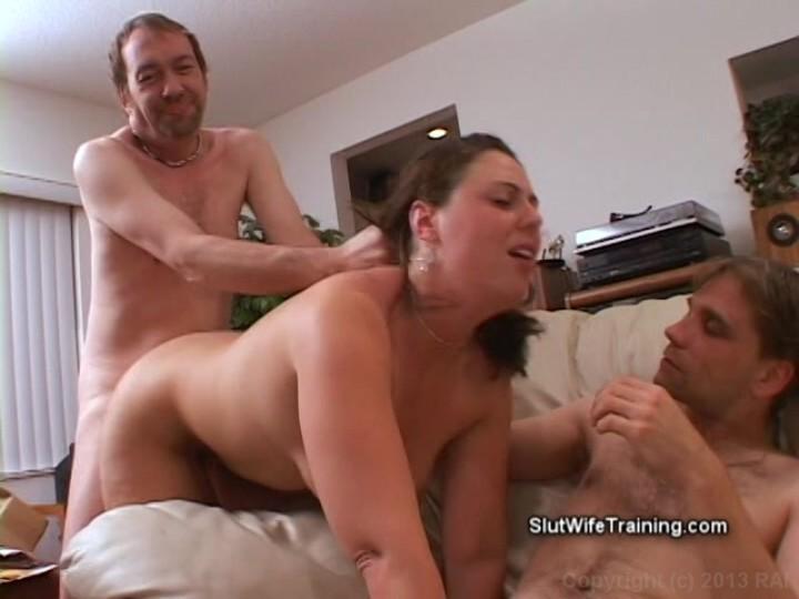 Girl handcuffed anal sex