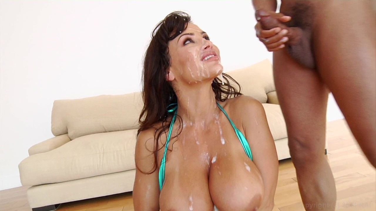 Lisa Ann Massive Facial