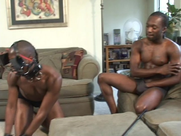 bondage Gay black