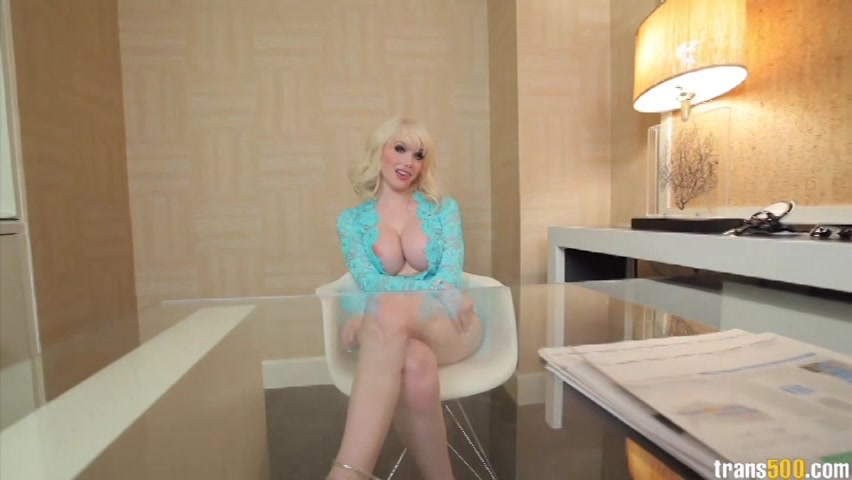 Sim recommend best of blonde cock riding shemale
