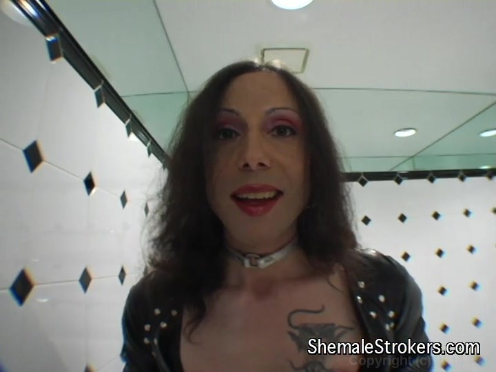 Shemale strokers ts leather thorns