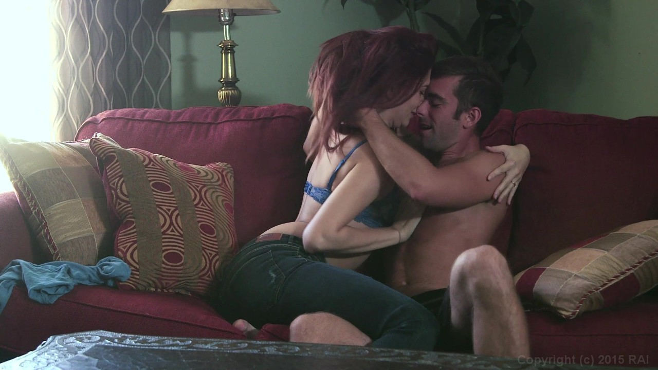 Sexy Redhead Ashlyn Molloy is Gagged and Her Pussy is Penetrated by Hung  Stud Logan Pierce from Restraint | New Sensations | Adult Empire Unlimited