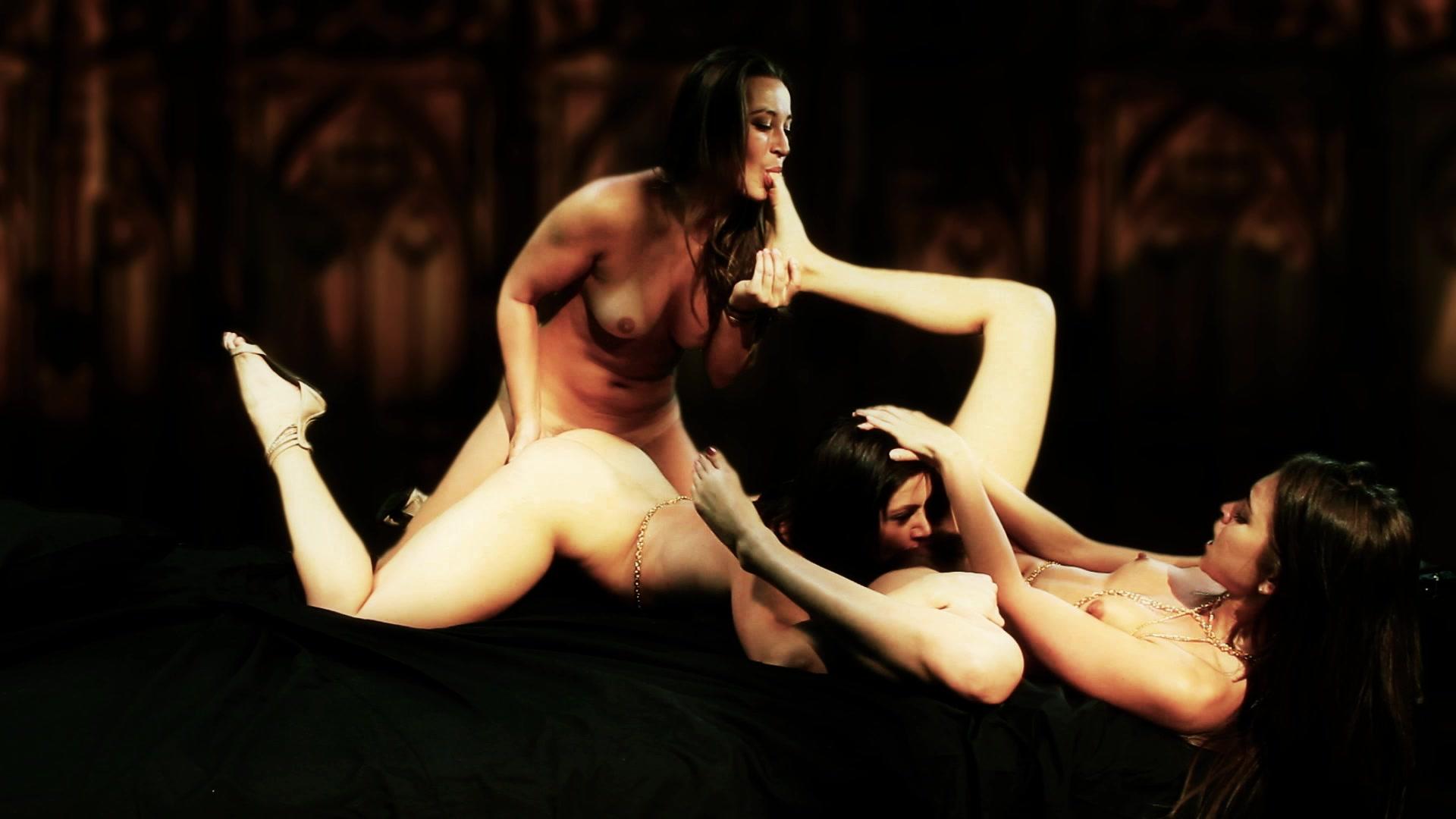 lustful lesbian dani daniels riley reid