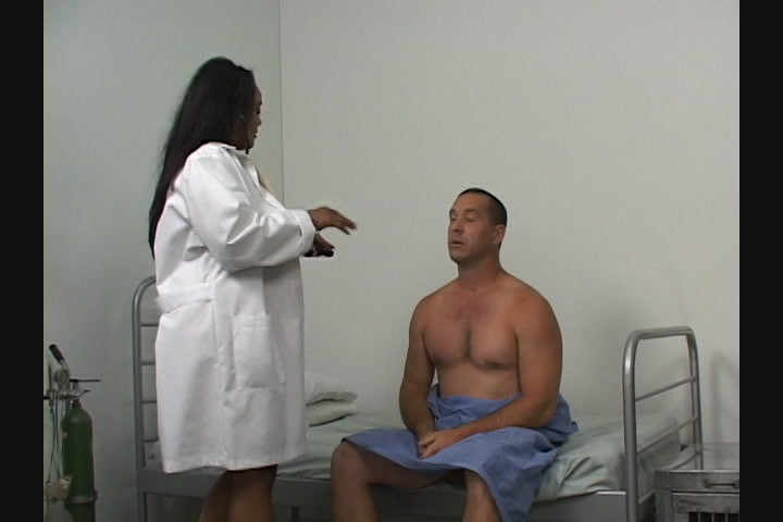 BBW nurse fucks her kinky patient with a big strap-on streaming at Kings of  Fetish