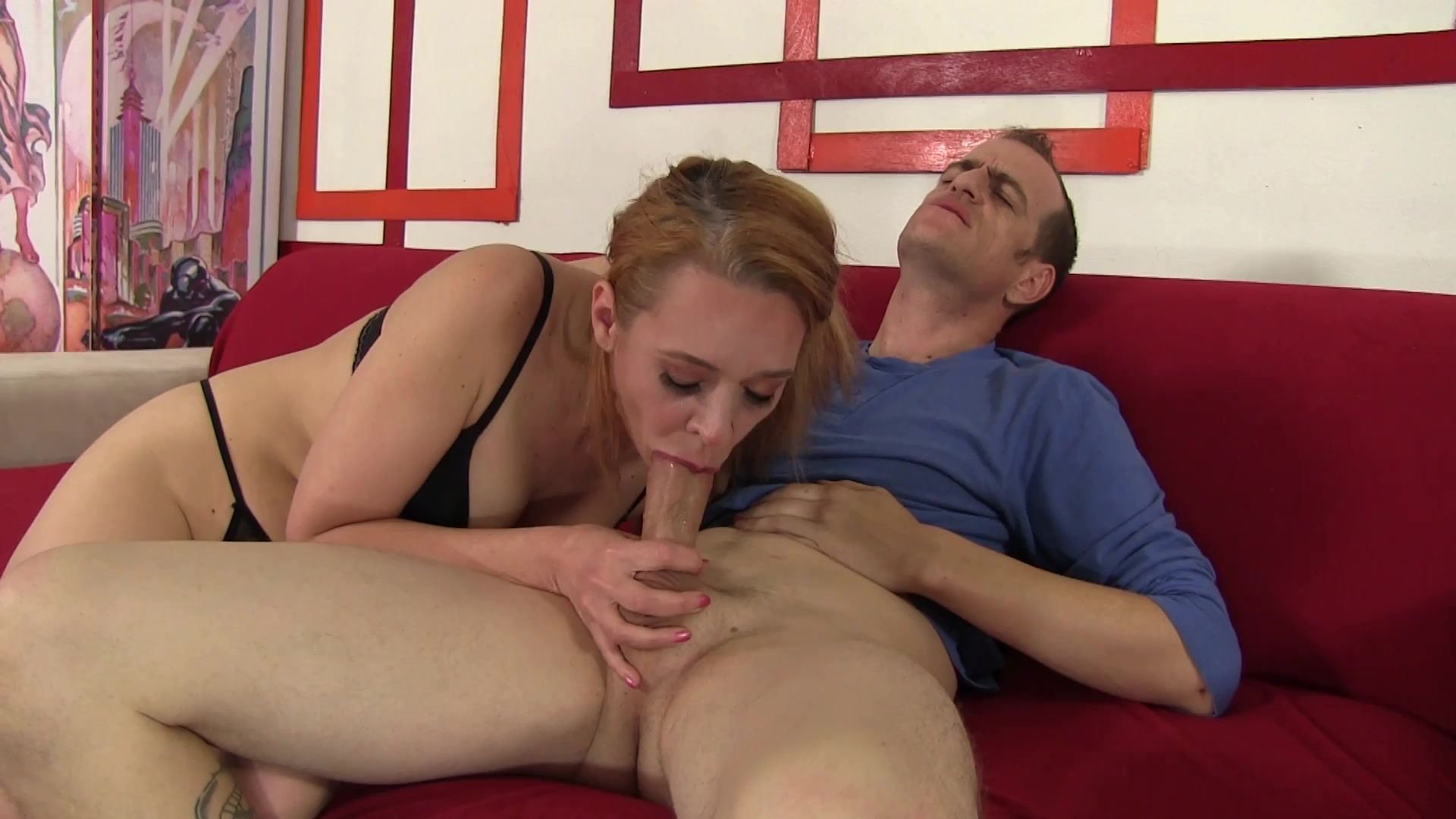 Pretty MILF Sable Renne Sucks His Big Dick and Gets Nailed on the Couch  from Grannies Love It Big 2 | Rookie Nookie Productions | Adult Empire  Unlimited